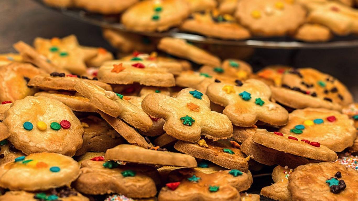 Bolachas deliciosa de Natal