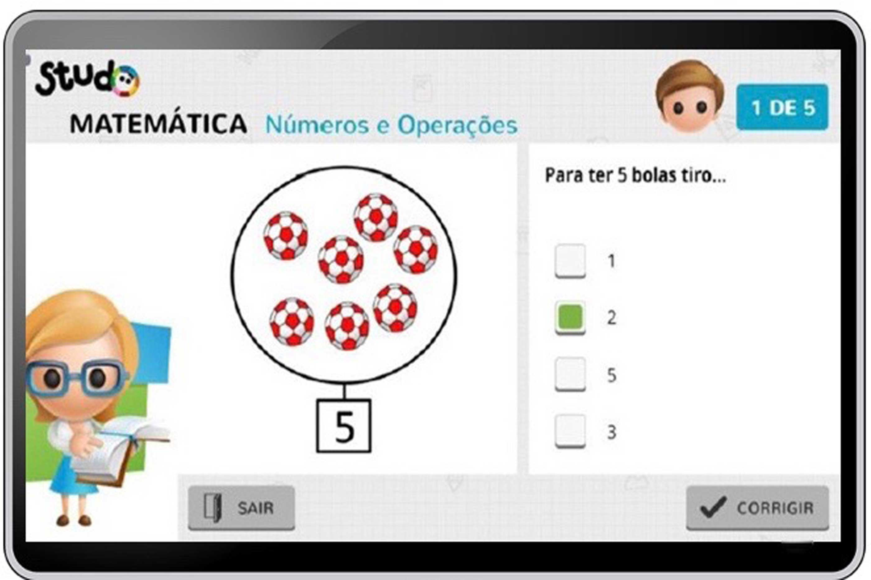 Imagens da aplicação Studo ©AlfredoBeleza/technet