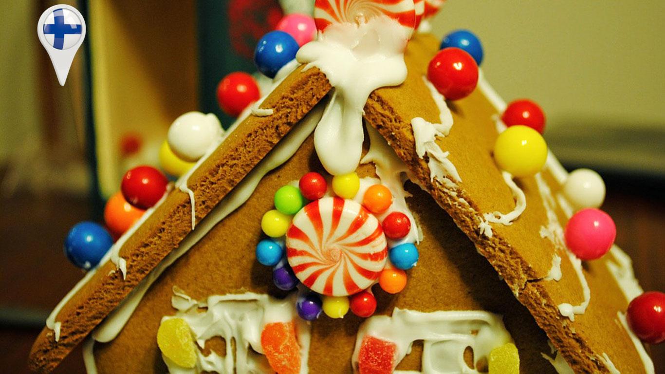 Original da Finlândia, esta sobremesa natalícia é conhecida pela sua forma de casa ou de bonecos de gengibre.