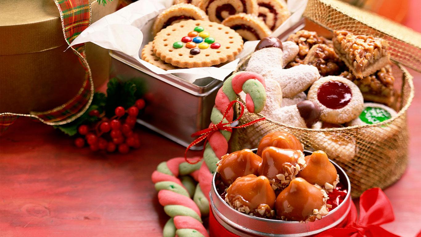 Os vários doces de Natal na mesa dos europeus. Clique para se deliciar!