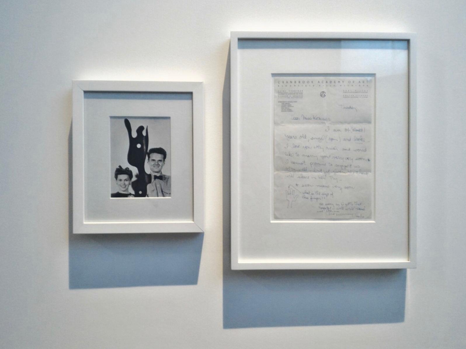 Carta de Amor escrita por Charles para Ray. Acabariam por casar em 1941 em Las Vegas. © Miguel Gonçalves