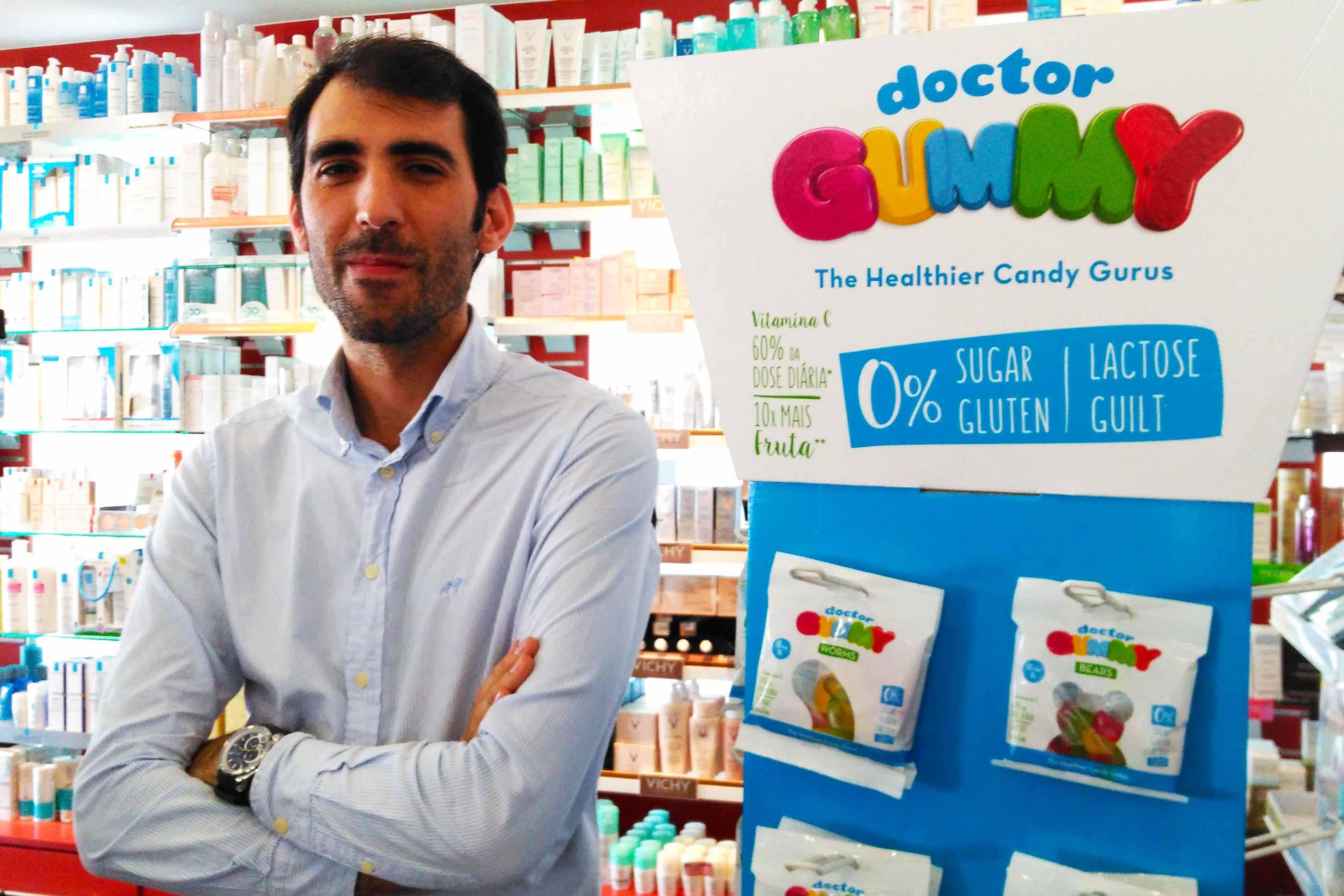 Nuno Santos é o fundador da DoctorGummy