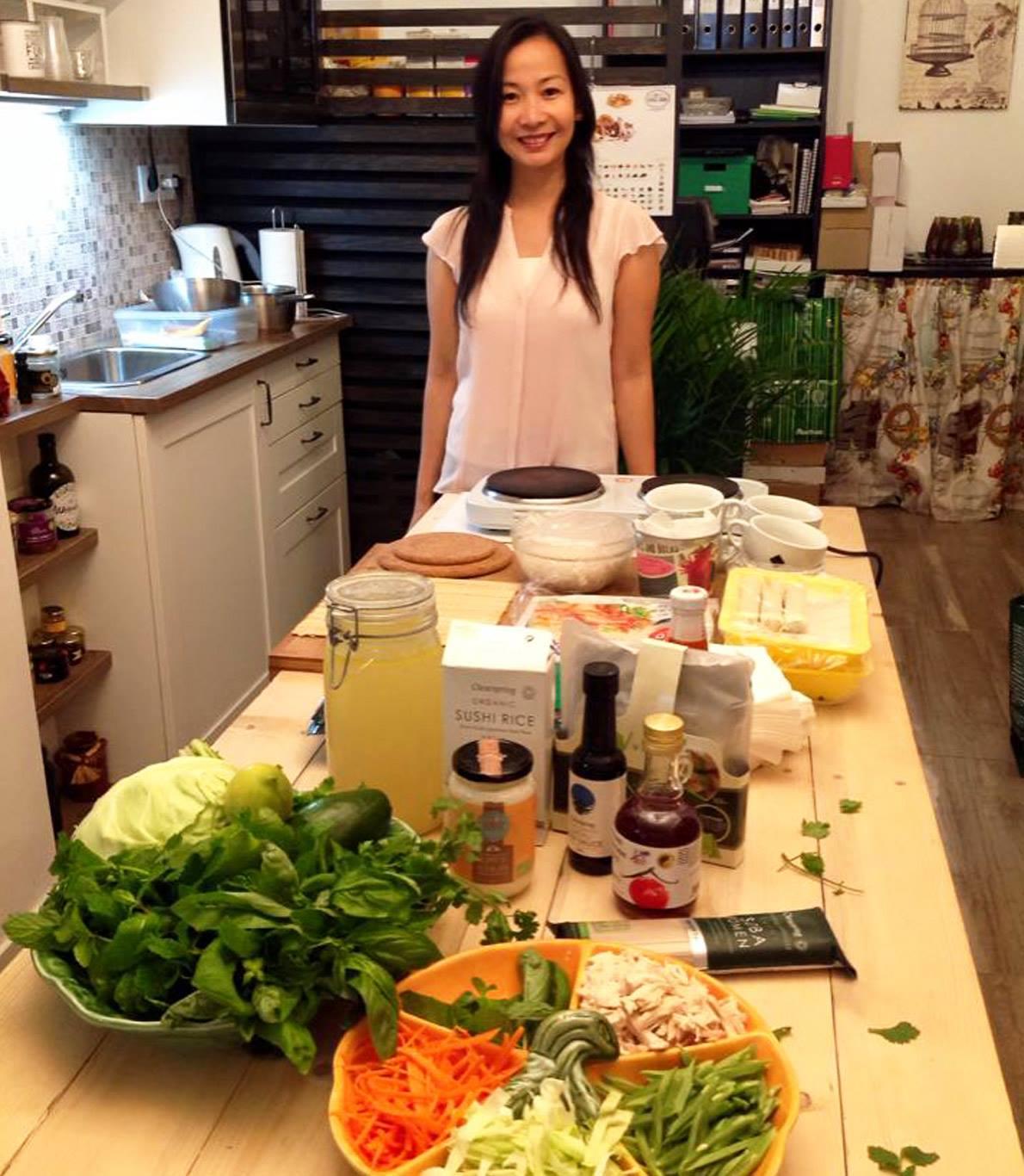 Workshop de Sushi Biológico