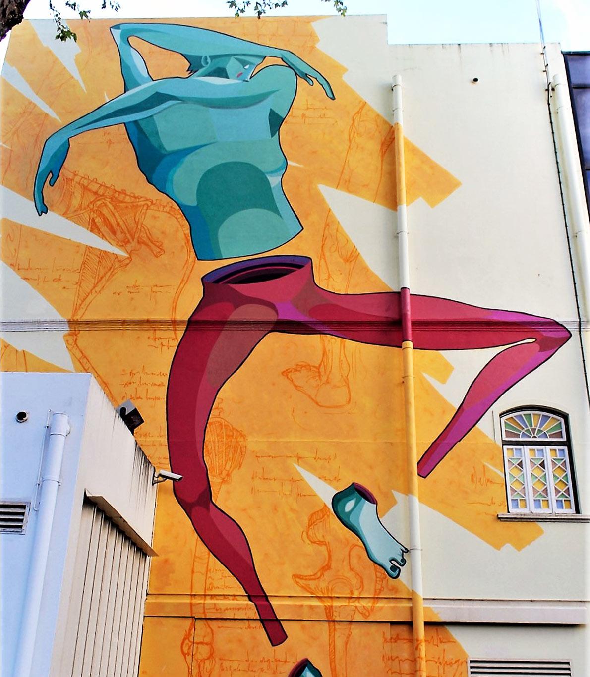 Gonçalo Mar inspirou-se no grupo de dança contemporânea dos Recreios da Amadora.