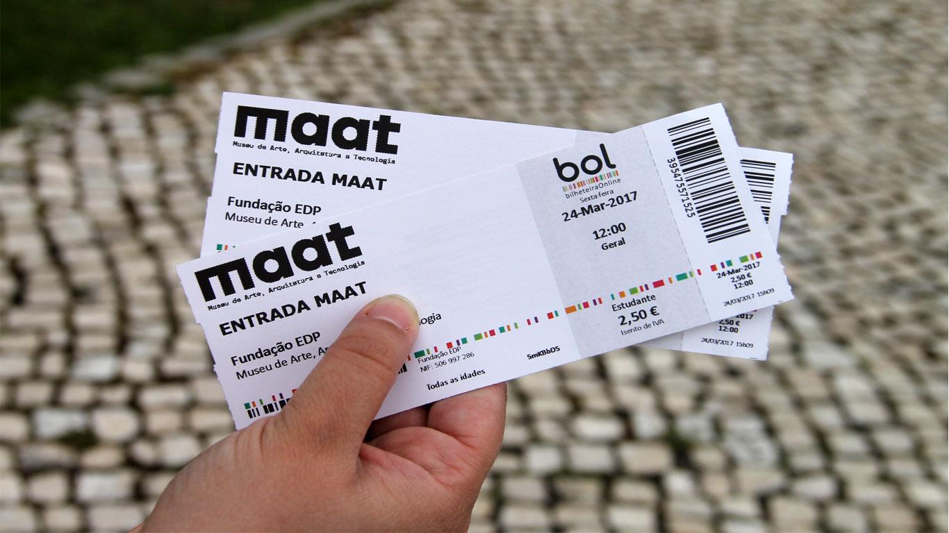 Estes bilhetes dão apenas acesso à exposição principal.