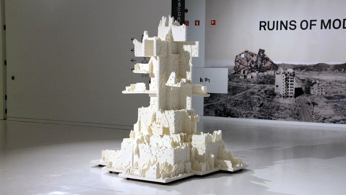 Escultura de açúcar.