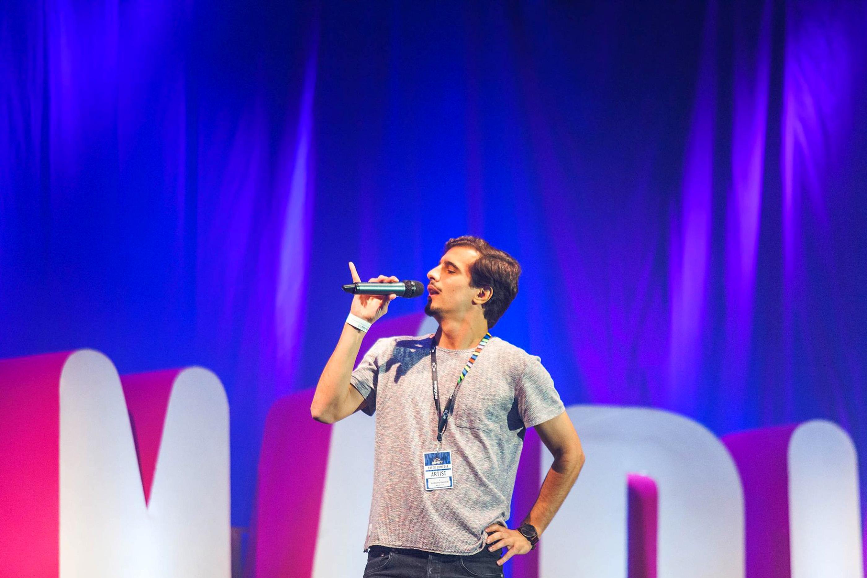 Stand-up comedy de Guilherme Geirinhas.