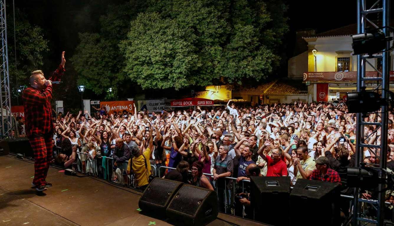 Público num concerto