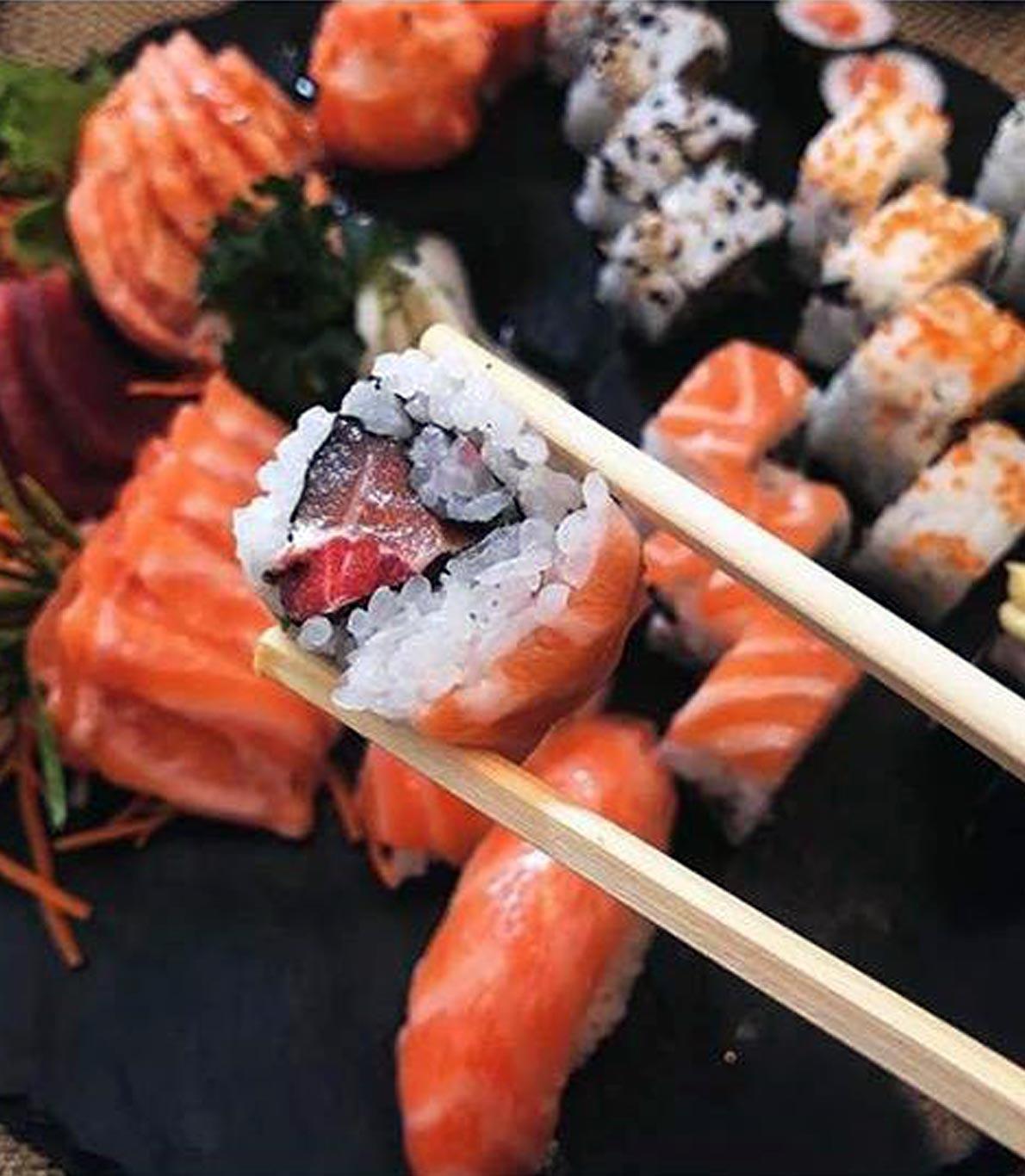 Rodízio all you can eat no SushiNow no Parque das Nações.