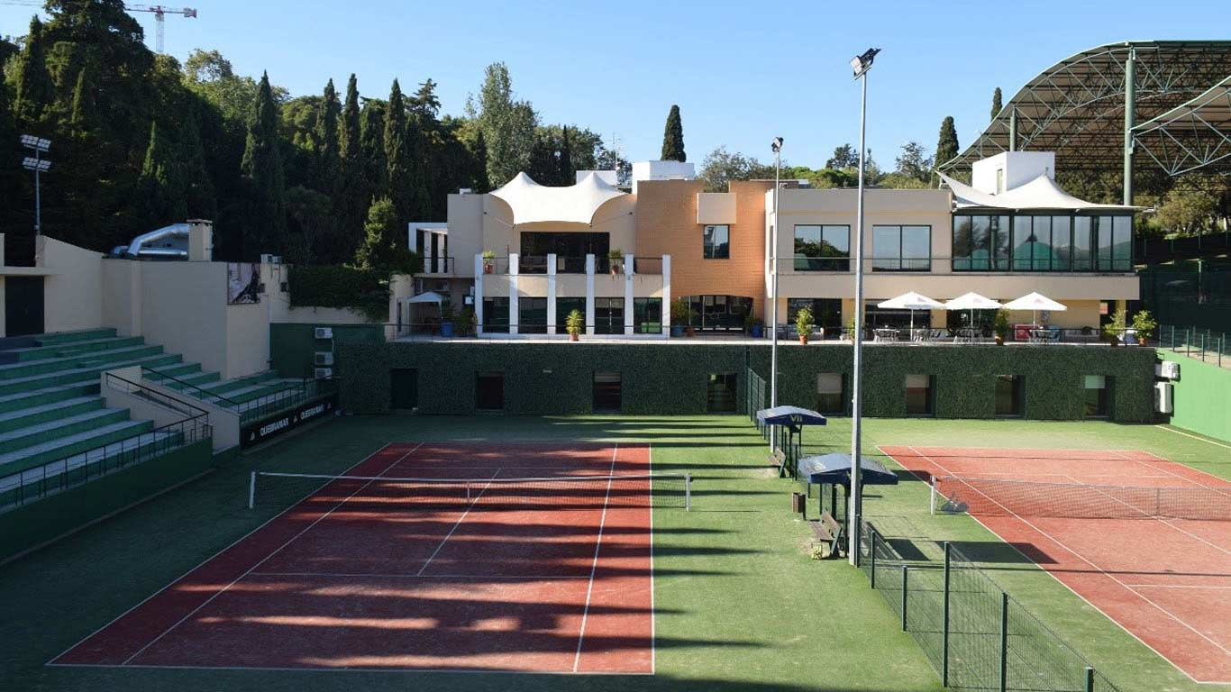 Campo de ténis do ginásio Clube VII