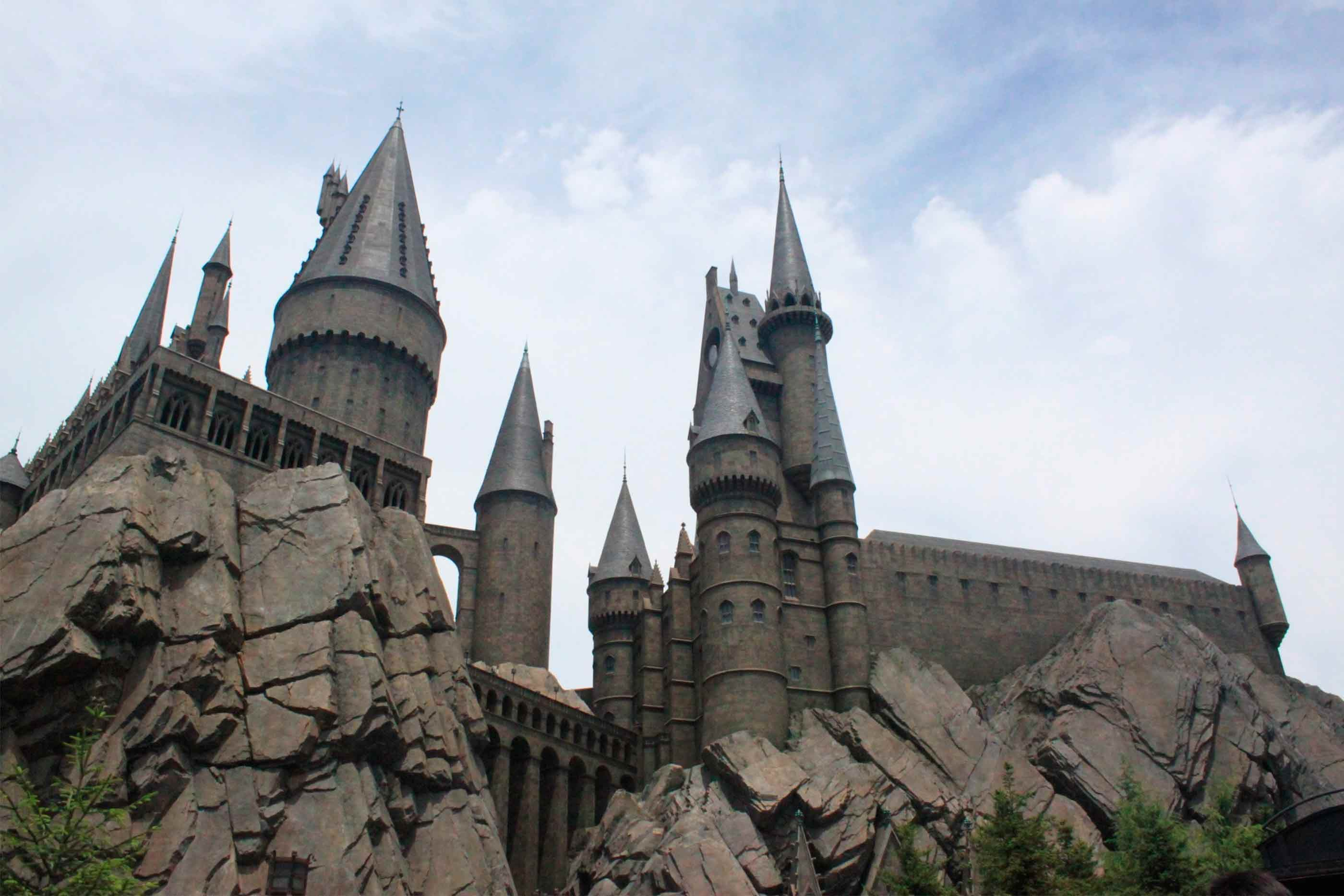 Castelo de Hogwarts da saga Harry Potter