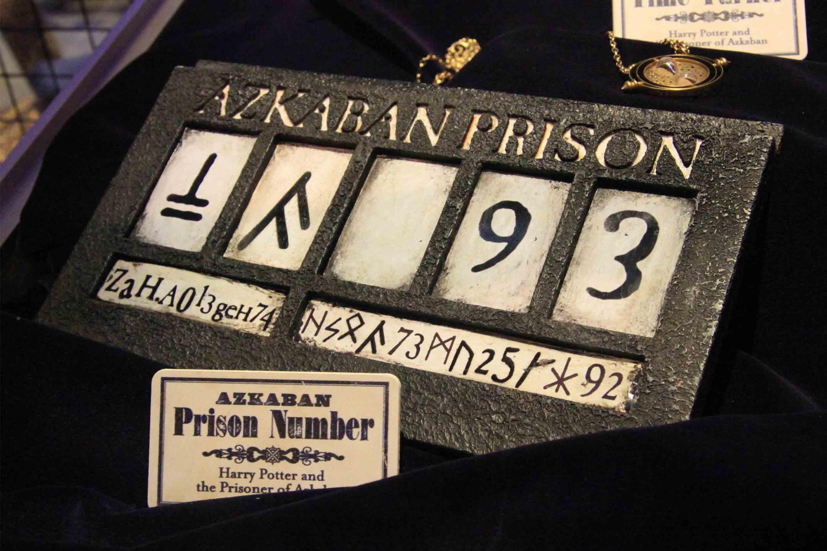 """Adereços utilizados no filme """"Harry Potter e o Prisioneiro de Azkaban"""""""