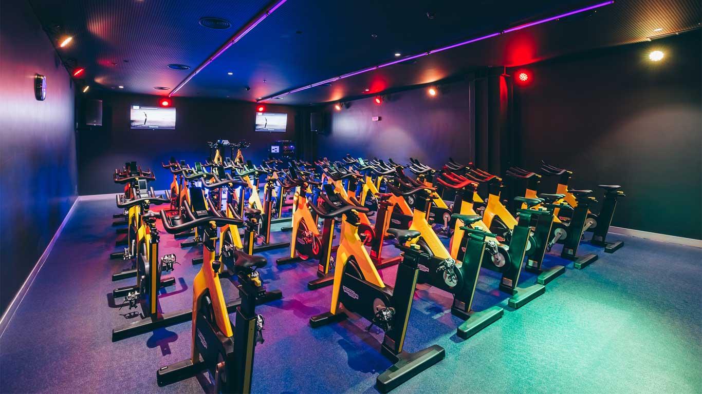 Bicicletas do ginásio Solinca Health & Fitness