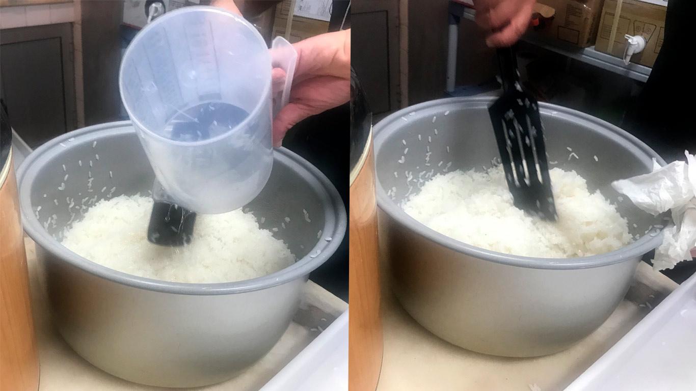 O arroz de sushi pode ser encontrado nos supermercados já pronto para ser feito em casa.