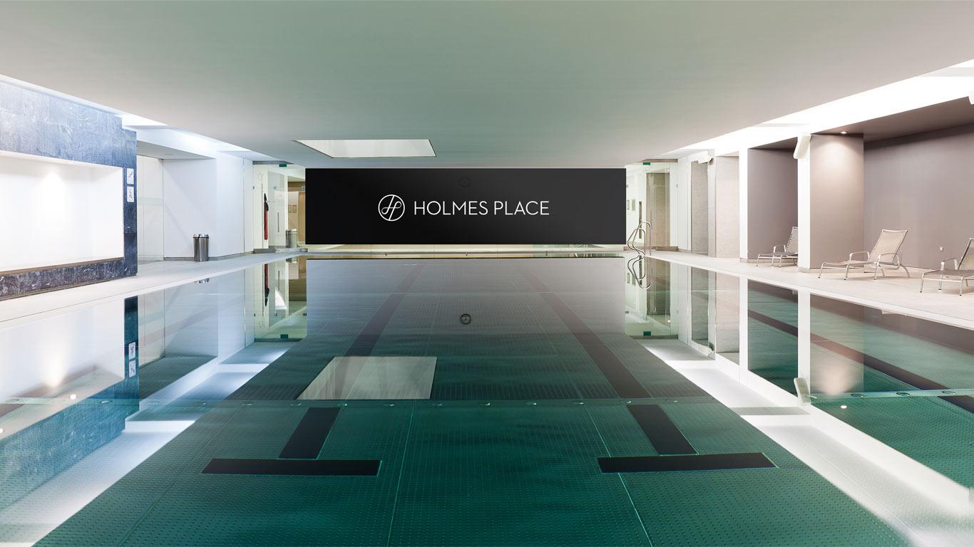 Piscina do ginásio Holmes Place