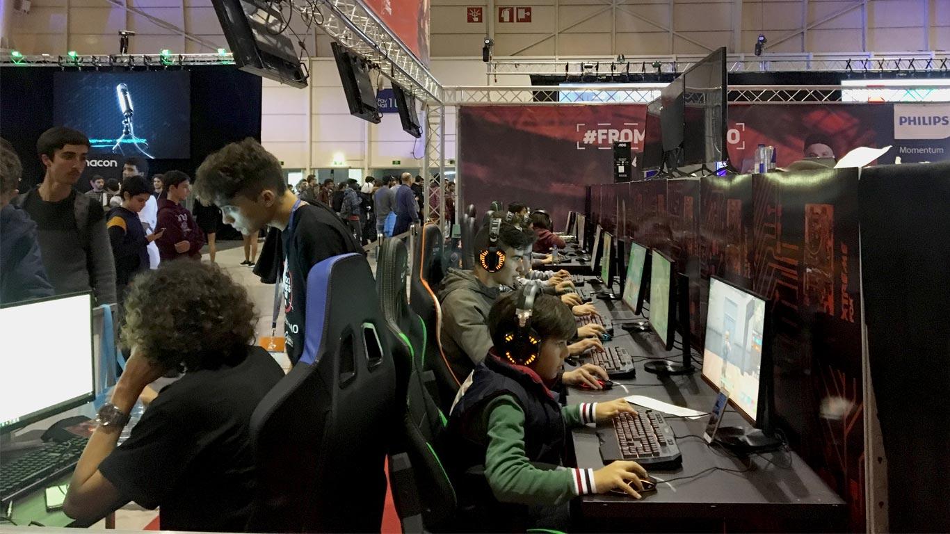 """Marketing da """"World of Gamer""""."""