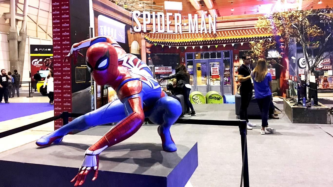 Marketing para cabeça de cartaz, o jogo Spider-Man