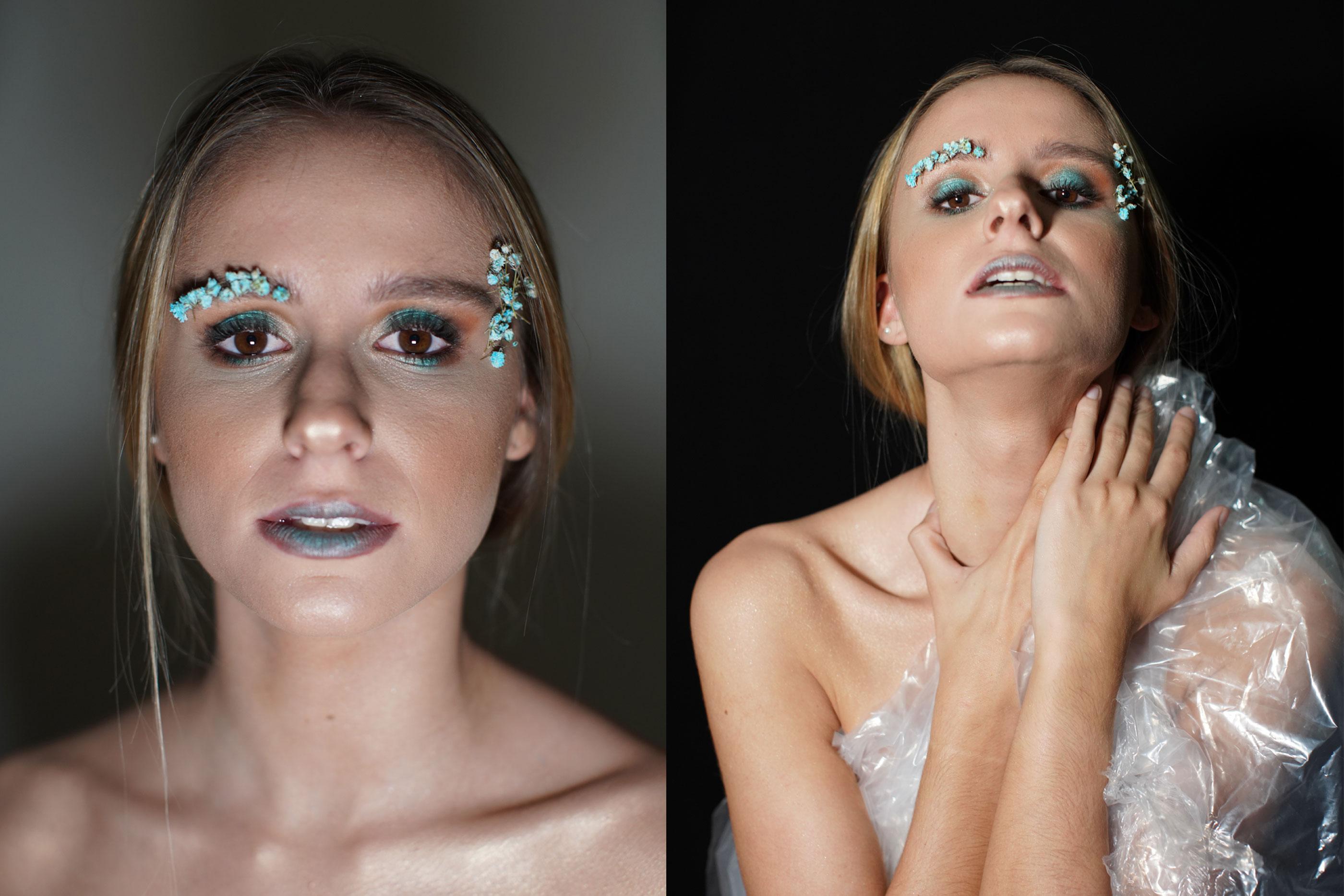 Margarida é a terceira tela humana de Raquel, com uma maquilhagem em tons de azul e utilização de flores no mesmo tom, enquanto que parte do corpo é revestido a plástico, que remete para os problemas ambientais.