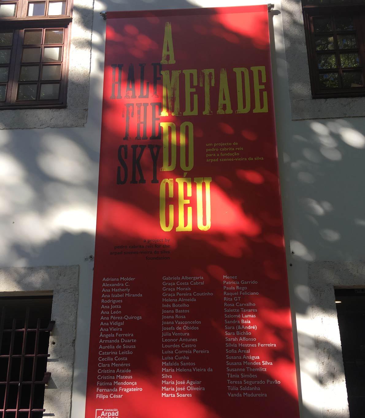 Entrada do museu Arpad Szenes-Vieira da Silva.