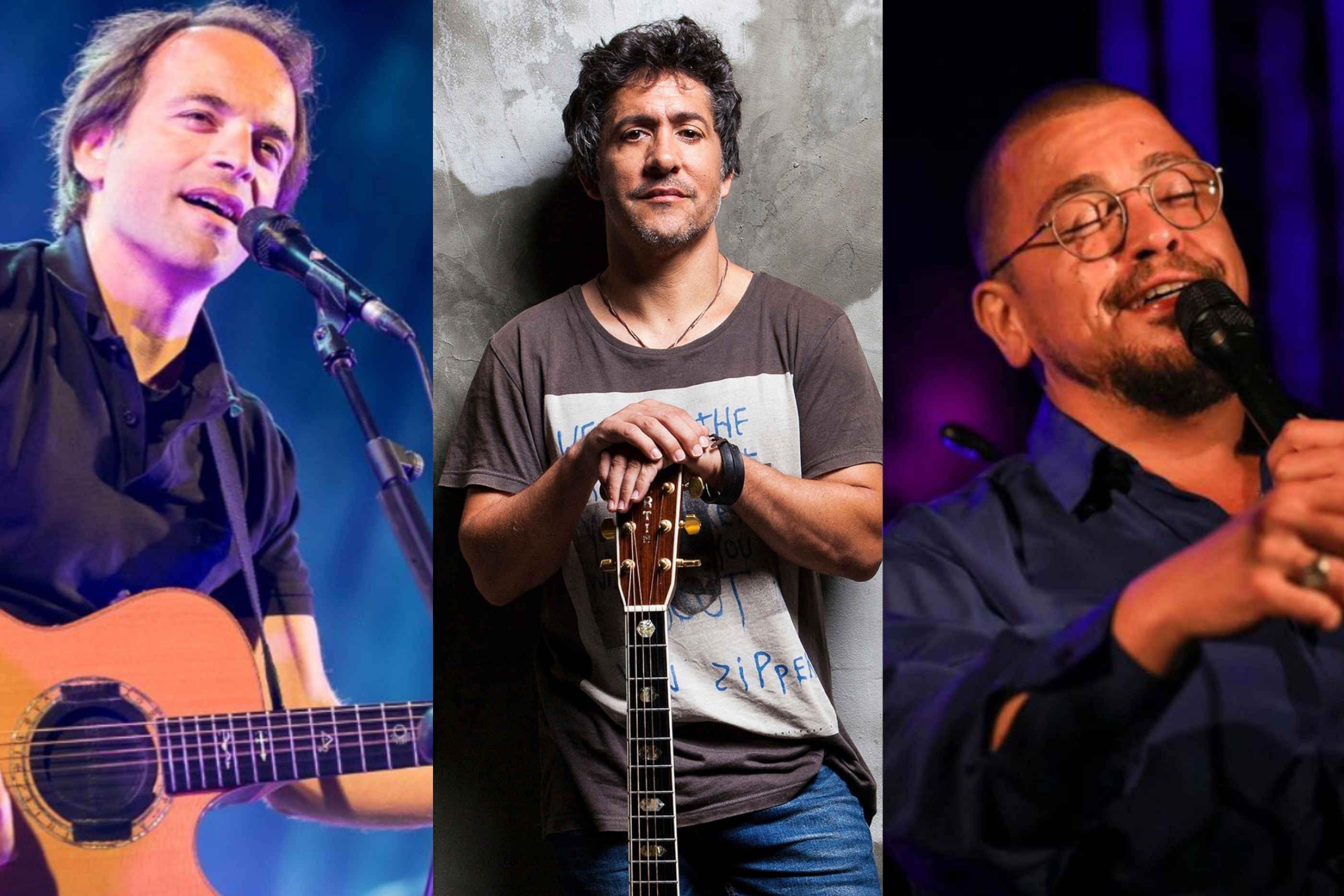 Três artistas que deram concertos online no Festival Eu Fico em Casa