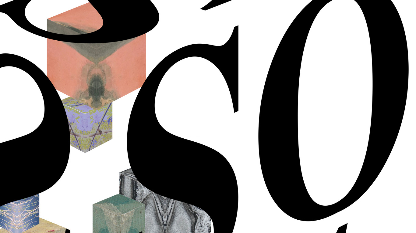 """Fundo branco com cubos desenhados de várias cores e as letras soltas """"S"""" e """"O"""" a preto."""