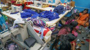 O dia-a-dia numa fábrica de tecidos