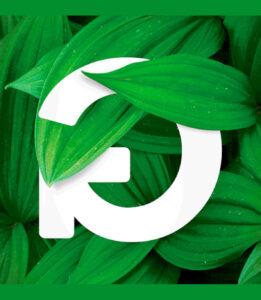 Logotipo do maior festival de sustentabilidade português, o Greenfest