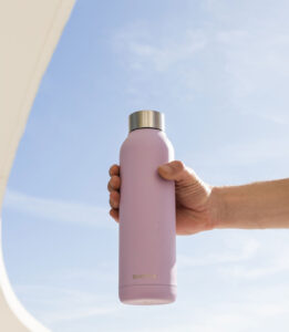 Garrafa térmica para transportar água ou bebidas